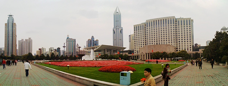 Shanghai-Panorama: People's Square