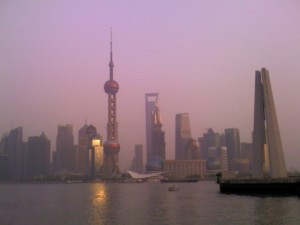 Pudong Sunset