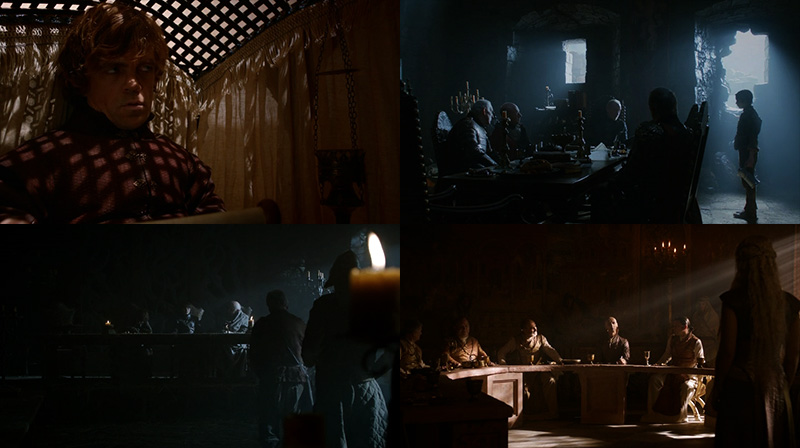 Game of Thrones: Lighting of interior scenes