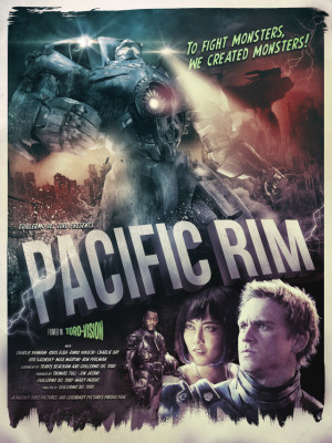 Pacific Rim Poster by Richard Davies