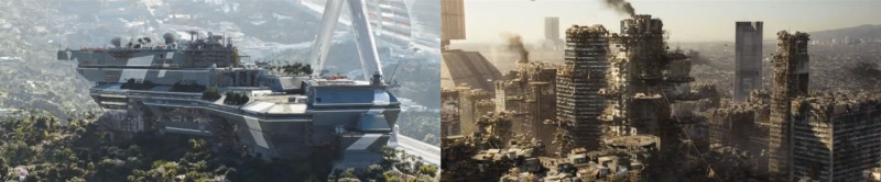 Elysium trailer screenshots (C) TriStar PIctures