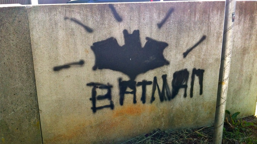 Bad Batman Graffiti