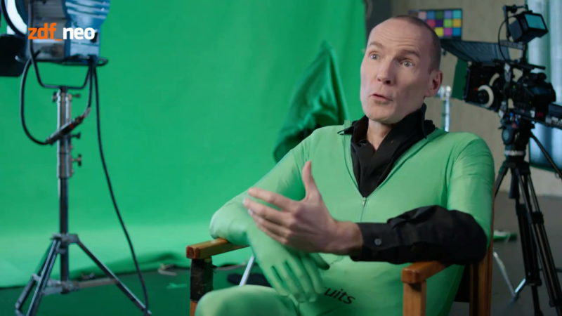 The cliché of green spandex suits